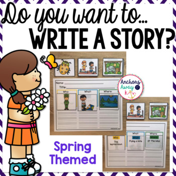 Writing A Story - Spring Themed