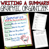 Writing A Summary Template / Graphic Organizer