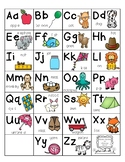 Writing-ABC Chart-Saxon Phonics Anchor Chart