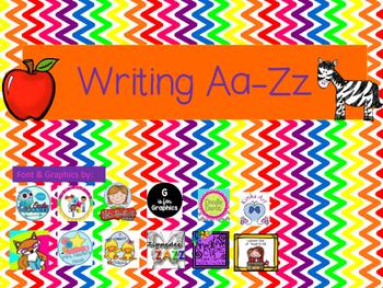 Writing Aa-Zz