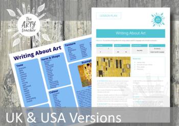 Writing About Art Literacy Mat