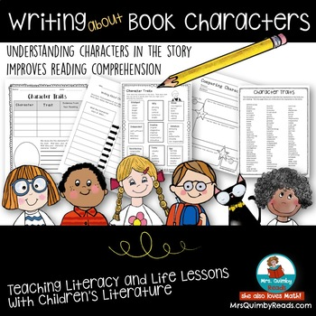 Write About Book Characters | [Traits, Words & Actions] | Improve Comprehension