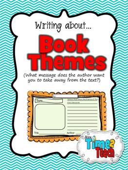 Writing About Book Themes {Respond to Reading}