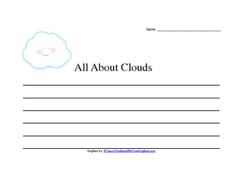 Writing About Clouds