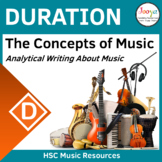 Writing About Duration in Music