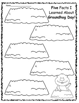 Writing About Groundhogs and Groundhog Day