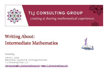 Writing About Intermediate Mathematics Packet