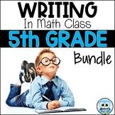 Writing About Math: 5th Grade Bundle