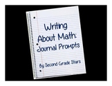 Writing About Math: 60 Journal Prompts for Second Grade
