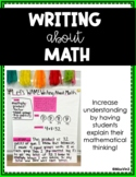 Writing About Math Anchor Charts