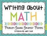 Writing About Math: Problem Solving Strategy Posters