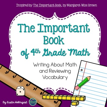 Writing About Math - The Important Book (4th Grade)