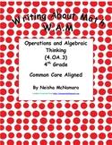 Writing About Math-(WAM) Operation and Algebraic Thinking