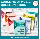 Writing About Music Question Cards