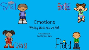 Writing About Our Emotions
