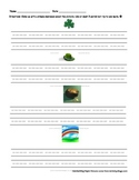 Writing About Pictures--St. Patrick's Day