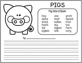 Writing About Pigs