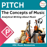 Writing About Pitch in Music