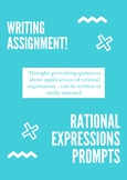 Writing About Rational Expressions