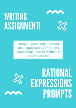 Rational Expressions Writing