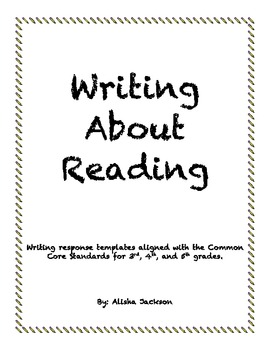Writing About Reading-Intermediate Grades