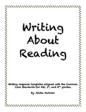 Writing About Reading-Primary Grades