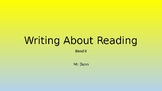 Writing About Reading - Bend 2 - Lucy Calkins PowerPoint