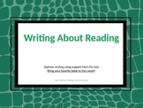 Writing About Reading CCSS.ELA-Literacy.W.2.1