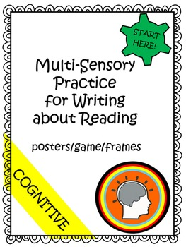 Write About Reading - Year Long Literacy Center