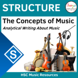 Writing About Structure in Music
