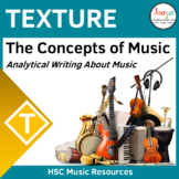 Writing About Texture in Music