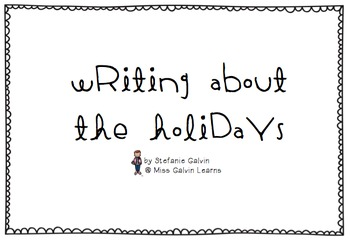 Writing About the Holidays