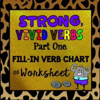 Strong, Vivid Verbs, Part 1