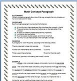 Writing Across Cirriculum Math Assignment