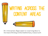Writing Across the Content Areas Power Point Presentation