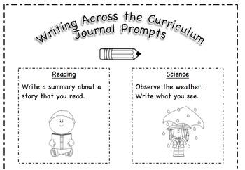 Writing Across the Curriculum - Editable
