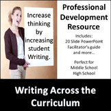 Writing Across the Curriculum Professional Development
