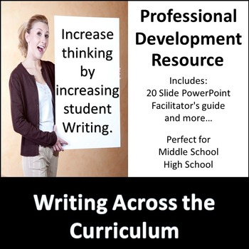 Writing Across the Curriculum Professional Development
