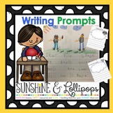 Writing Prompts for First Grade for the Entire School Year