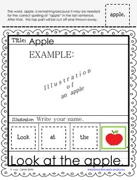 Writing Sentences Worksheets - Preprimer