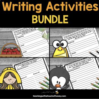 Writing Activities Bundle