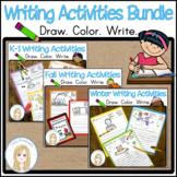 Writing Activities Bundle for Kindergarten and First Grade