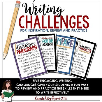 Writing Activities: Challenges for Inspiration and Practice
