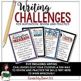 Writing Activities: Challenges for Inspiration and Practic