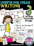 Writing Activities: Idea Development ~ Inspiring Ideas ~ 6 Traits of Writing