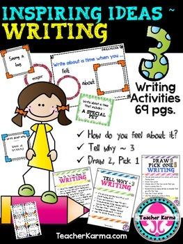 Writing Activities: Idea Development ~ Inspiring Ideas ~ 6