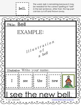 Writing Sentences Worksheets - Primer