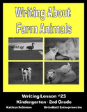 Writing About Farm Animals - 5 Days of Writing Workshops