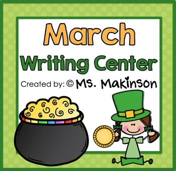 Writing Activities - March