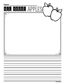 Writing Activities - SEPTEMBER Pretty Papers & Prompts